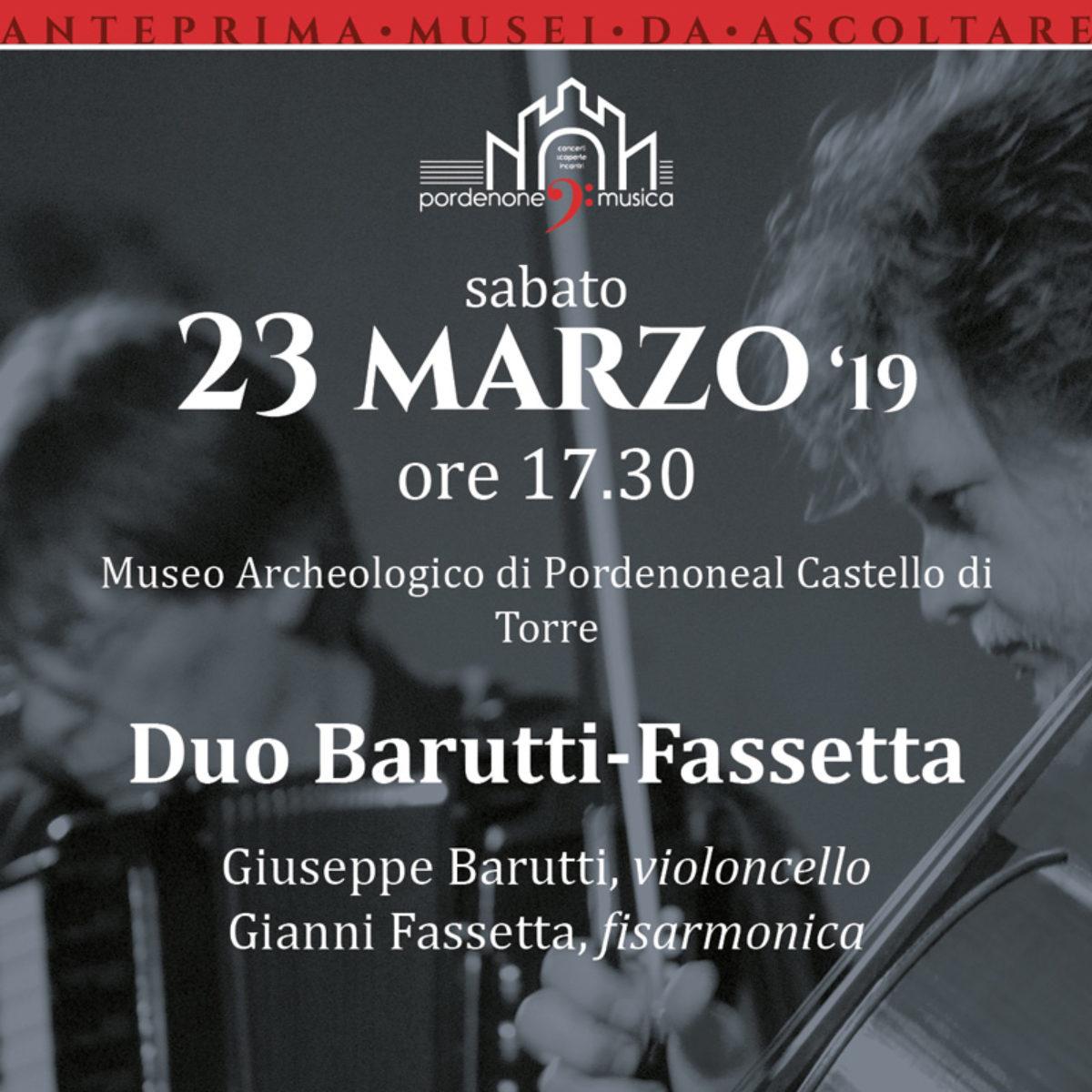 Anteprima Musei da Ascoltare – Duo Barutti/Fassetta