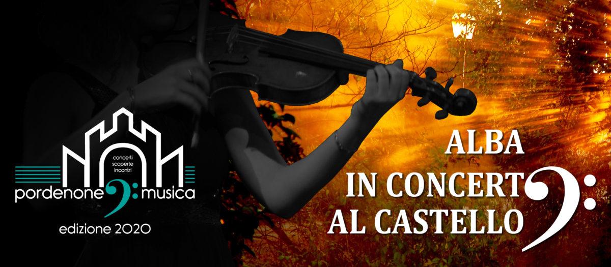 Alba in concerto al Castello
